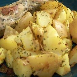 Curried Cumin Potatoes recipe