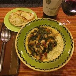 Bean and Kale Ragu recipe