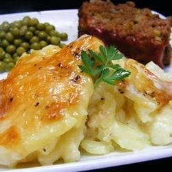 Rich and Creamy Potatoes Au Gratin recipe