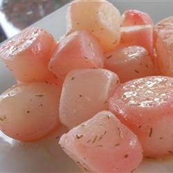 Steamed Radishes recipe