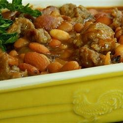 Aunt Ro's Baked Beans recipe