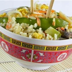 Vegetable Lovers' Fried Rice recipe