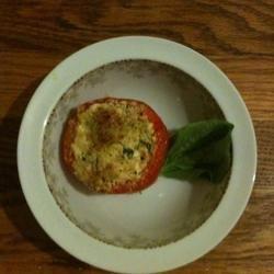 Goat Cheese Stuffed Tomatoes recipe