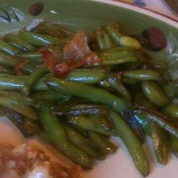Southern Fried Green Beans recipe