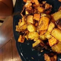 Honey and Rosemary Sweet Potatoes recipe