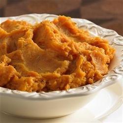 Gourmet Sweet Potato Souffle recipe