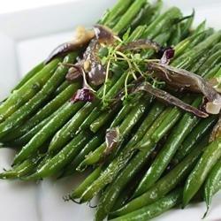 Haricots Verts Lyonnaise recipe