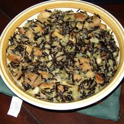 Wild Rice Stuffing for Turkey recipe
