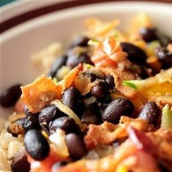 Black Beans with Bacon recipe