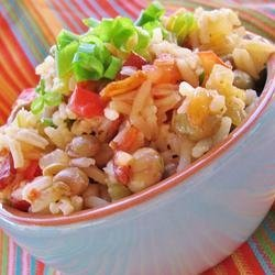 Bahamian Style Peas and Rice recipe