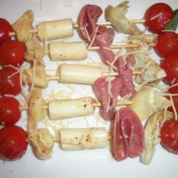 Party Antipasto Skewers recipe