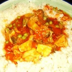 Sweet & Sour Chicken Curry (Hot, Sour & Sweet!) recipe