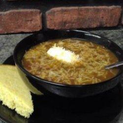Spicy Vegetarian Taco Soup recipe