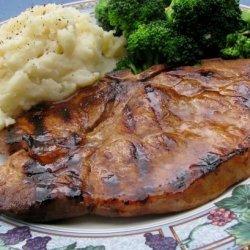 Teriyaki Grilled Pork Chops recipe
