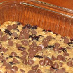 Low Fat Cranberry Chocolate Chip Granola Bars recipe