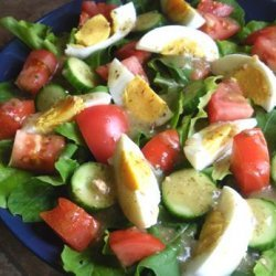 Mixed Green Salad and Mustard Vinaigrette recipe