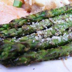 Roasted Asparagus With Pesto recipe