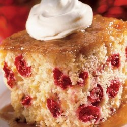Saucy Cranberry Cake recipe