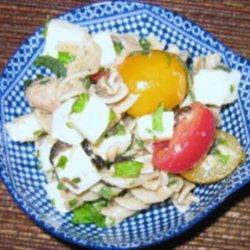 Olives, Tuna and Fresh Herbs Pasta Salad recipe