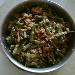 Green Beans Thoran (Green Beans With Coconut) recipe