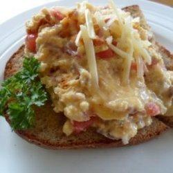 Tomato & Onion Scrambled Eggs recipe
