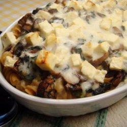 Creamy Spinach Pasta Casserole recipe