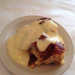 Fig and Raisin Bread Pudding recipe