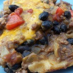 Black Bean and Beef Casserole recipe