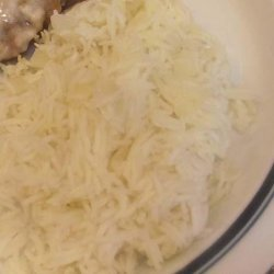 My Mom's Famous White Rice recipe