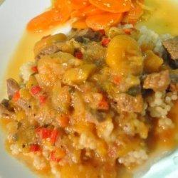 Lamb and Apricot Stew recipe