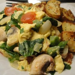 Healthy Veggie Scramble recipe