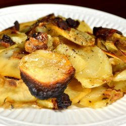 Potato Casserole With Caramelized Onions recipe