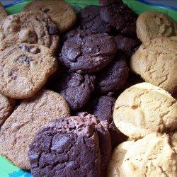 Gourmet Double Chocolate Chunk Cookies recipe
