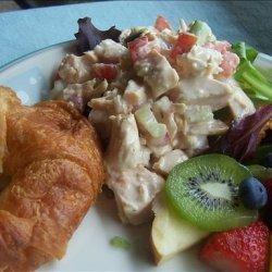 Chicken Salad Croissants recipe