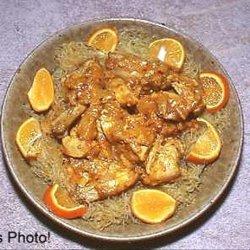 Sri Lanka Coconut-Yogurt Chicken over Rice Sticks recipe
