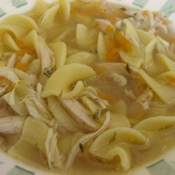 Chicken Noodle Soup (Bill's Style) recipe