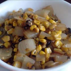 Roasted Corn and Onions recipe