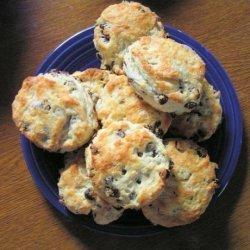 Yummy Raisin Tea Biscuits - No Sugar Added recipe