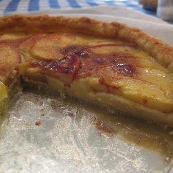 Apple Custard Tart recipe