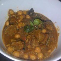 Aubergine, Chickpea, and Tamarind Stew recipe