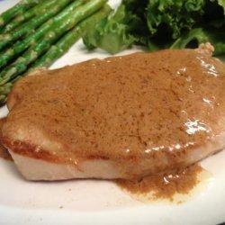 Pork Chops, With Mustard or Horseradish recipe