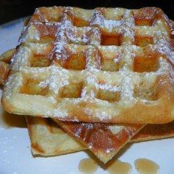 Jan's Belgian Waffles recipe