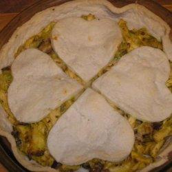 Chicken, Leek and Mustard Pie recipe