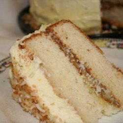Coconut Lemon Layer Cake recipe