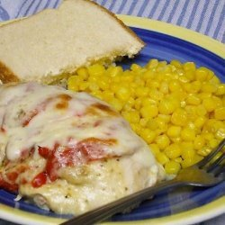 Artichoke-Stuffed Chicken Breast, but With a Different Hat recipe