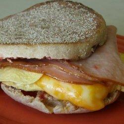 Cranky Egg Sandwich recipe