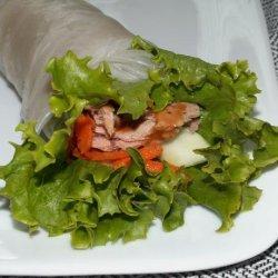 Tuna Rolls Sandwiches recipe