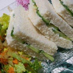 Cucumber Sandwich at the Empress recipe