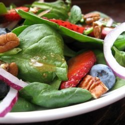 Spinach Salad With Fresh Summer Berries recipe