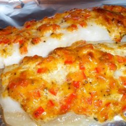 Baked Flounder With Herbed Mayo and Vermouth recipe